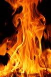 stor varm D-brand Royaltyfri Bild
