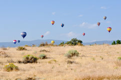 stor varm race reno för luftballong Royaltyfria Foton