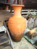 stor vase Arkivfoto