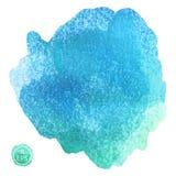Stor vattenfärgfläck Arkivfoton