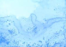 Stor vattenfärgtextur Royaltyfri Fotografi