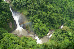 stor vattenfall Royaltyfria Bilder