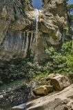 stor vattenfall Fotografering för Bildbyråer
