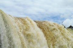 stor vattenfall Royaltyfri Foto