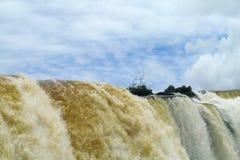 stor vattenfall Arkivbilder