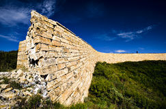 stor vägg Royaltyfri Foto
