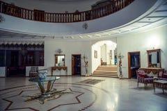 Stor vit korridor royaltyfria foton