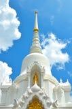 Stor vit tempel Arkivbilder