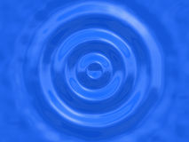 stor waterdrop Arkivbild