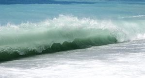 stor wave Arkivfoto