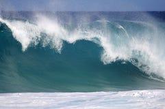 stor wave Royaltyfria Foton