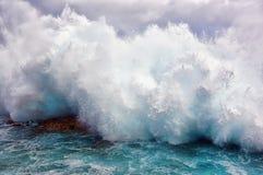 stor wave Fotografering för Bildbyråer
