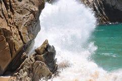 stor wave Arkivfoton