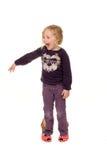 stora barnskor Royaltyfri Fotografi