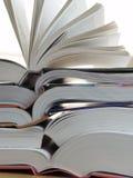 stora böcker Arkivfoton