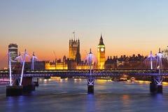 Stora Ben i London Royaltyfria Foton
