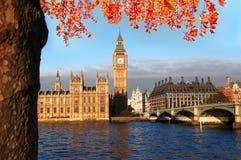 Stora Ben i London, England Royaltyfri Bild