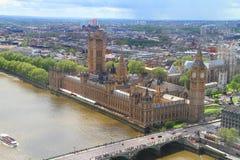 Stora Ben London Arkivbild