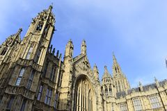 Stora Ben London - den stora Klockan - Förenadet kungariket Fotografering för Bildbyråer