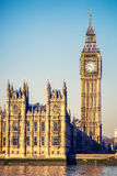 Stora Ben står hög i London Royaltyfria Bilder