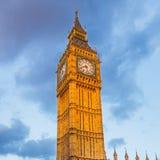 Stora Ben torn på solnedgången Royaltyfri Fotografi