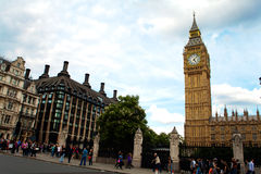 Stora ben westminster london Fotografering för Bildbyråer