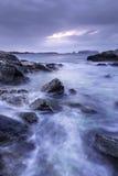 Stora Bernera - ö av Lewis Royaltyfri Bild