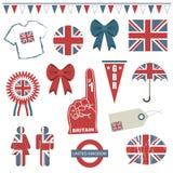 stora britain Arkivbilder