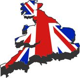 stora britain royaltyfri illustrationer