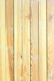 Stora bruna wood paneler som används som bakgrundstextur Royaltyfri Bild