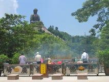 stora buddha Arkivbilder