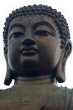 Stora buddha Arkivbild