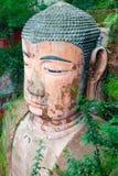 Stora buddha av leshan Kina Arkivfoton