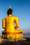 Stora buddha i Pakse Royaltyfria Bilder