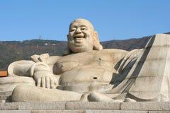 Stora Buddha Maitreya Royaltyfri Bild