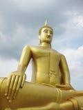 Stora buddha på Wat Bangchak Arkivbilder