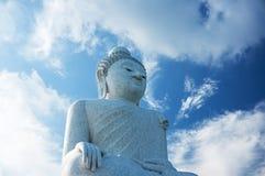Stora buddha phuket Arkivfoto