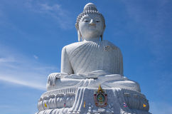 Stora buddha phuket Arkivfoton