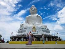 Stora buddha phuket Royaltyfria Bilder
