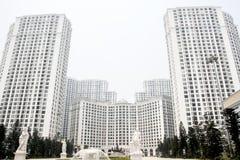 stora byggnader Arkivbilder