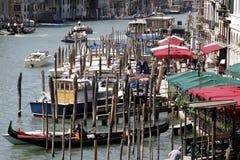 stora canale Royaltyfria Foton