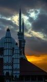Stora centrala Java Mosque Fotografering för Bildbyråer