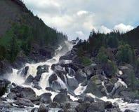 stora chulchinsky falls Royaltyfri Foto