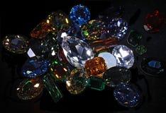 Stora crystal strasses Arkivfoton