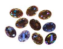 Stora crystal strasses Royaltyfria Bilder