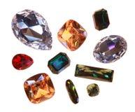 Stora crystal strasses Royaltyfri Fotografi