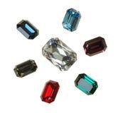 Stora crystal strasses Royaltyfri Foto