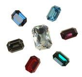 Stora crystal strasses Royaltyfri Bild