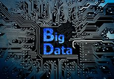Stora data Arkivbilder