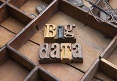 Stora data arkivbild